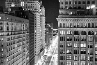 Philadelphia Center City View South Broadstreet 3;00 AM